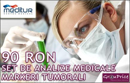 ANALIZE MEDICALE - MARKERI TUMORALI doar la Centrul Medical MEDITUR din IASI