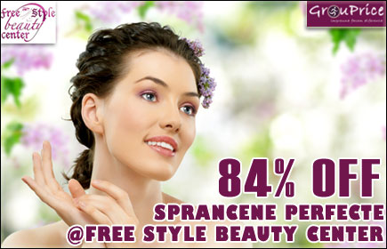 Sprancene perfecte @ FREE STYLE BEAUTY CENTER: Pensat + Stilizat + Vopsit + Echilibrare si Crearea Formei Perfecte a sprancenei in functie de elementele fetei + Super Bonus