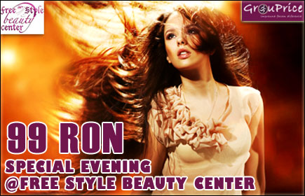 99 RON PACHET SPECIAL EVENING - Coafat Special Ocazie + Styling Profesional + Make-up Profesional + BONUSURI @ Style Beauty Center