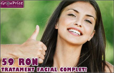 Tratament facial complet la doar 59 Ron @ STUDIO MAYO