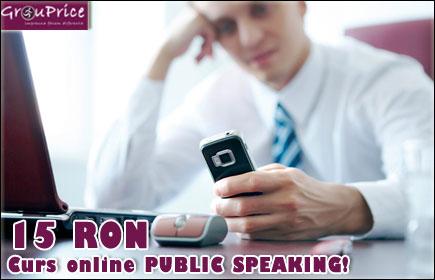 Curs Online Public Speaking @ VANGUARD STRATEGY