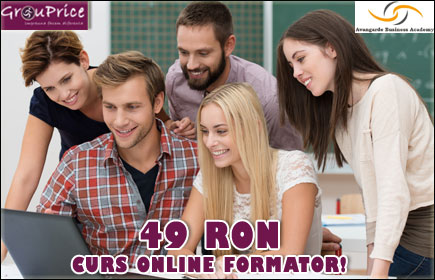 49 Ron - Curs online Formator @ Avangarde Business Group