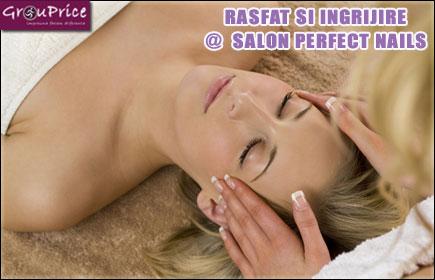 Tratament facial ( produse profesionale GIGI, include: demachiat, tonifiere, expunere vapofor, extractie, dezinfectare electroderm, masaj facial cu sarurile aferente tipului de ten, masca si crema de hidratare) + Pensat +Epilat brate + Epilat mustata + Epilat picioare lung @ SALON SECRET NAILS