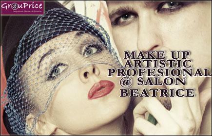 MAKE UP PROFESIONAL (de zi, de seara, de ocazie - exclus machiajul de mireasa) @ SALON BEATRICE
