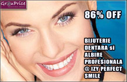 ALBIRE PROFESIONALA si BIJUTERIE DENTARA @ IZY PERFECT SMILE
