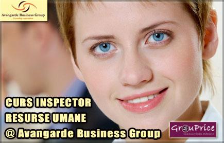 CURS INSPECTOR RESURSE UMANE -  ACREDITAT ANC in perioada 13–14martie2015 @ Avangarde Business Group.
