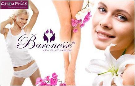 Iti completam frumusetea numai la Salon Baronesse, Vopsit fara limita de tuburi + coafat + tuns + spalat + masca + styling + mani - pedi oja Melkior+ Bonus pensat