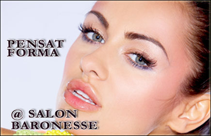 Sprancene perfect conturate doar la Salon Baronesse, vopsit sprancene+pensat +epilat mustata