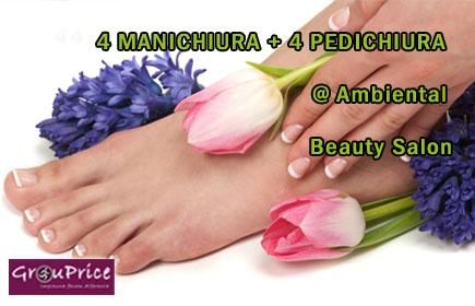 MANICHIURA si PEDICHIURA CLASICA  - OFERTA de la  Ambiental Beauty Salon!