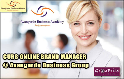 CURS ONLINE – BRAND MANAGER  @ Avangarde Business Group