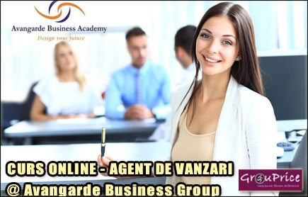 AGENT DE VANZARI - CURS ONLINE    @ Avangarde Business Group
