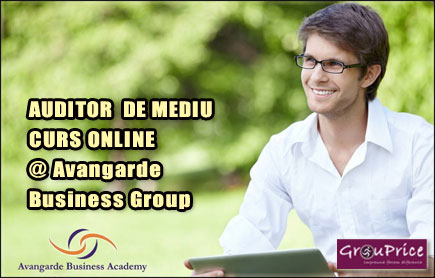 AUDITOR  DE MEDIU - CURS ONLINE @ Avangarde Business Group