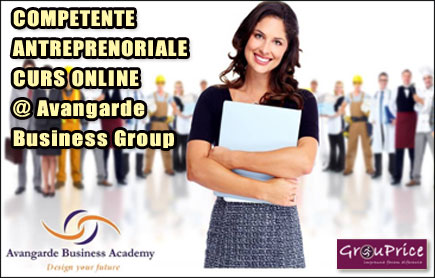 COMPETENTE ANTREPRENORIALE   - CURS ONLINE @ Avangarde Business Group