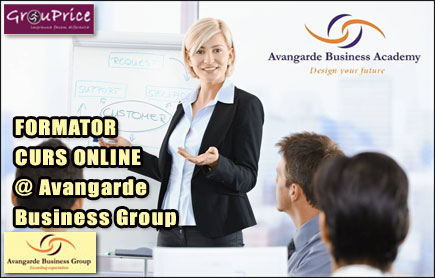 FORMATOR - CURS ONLINE @ Avangarde Business Group