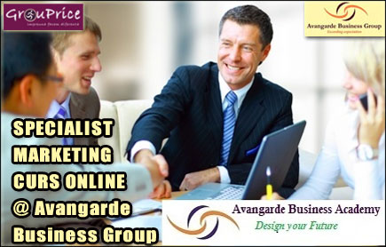 SPECIALIST MARKETING - CURS ONLINE @ Avangarde Business Group