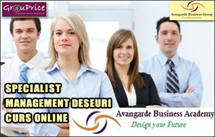 SPECIALIST MANAGEMENT DESEURI - CURS ONLINE @ Avangarde Business Group