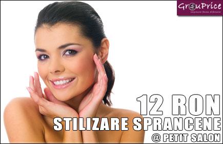 Pachet Stilizare sprancene (consult specialist+forma+vopsit sprancene @ PETIT SALON
