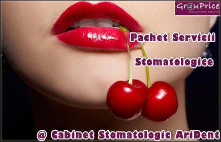PACHET STOMATOLOGIC @  Cabinetul Stomatologic AriDent