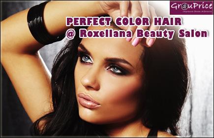 PERFECT COLOR HAIR si SILK SKIN SECRETS @ Roxellana Beauty - Salon