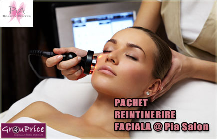 PACHET REINTINERIRE FACIALA @ Pia Salon