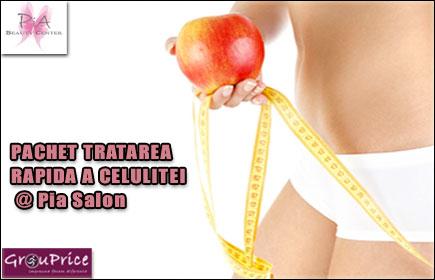 PACHET TRATAREA RAPIDA A CELULITEI   @     Pia Salon