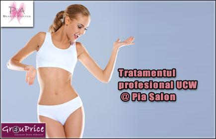 PACHET Tratamentul profesional UCW @ Pia Salon