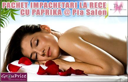 PACHET IMPACHETARI LA RECE CU PAPRIKA @ Pia Salon