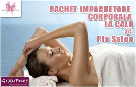 PACHET IMPACHETARE CORPORALA LA CALD @ Pia Salon