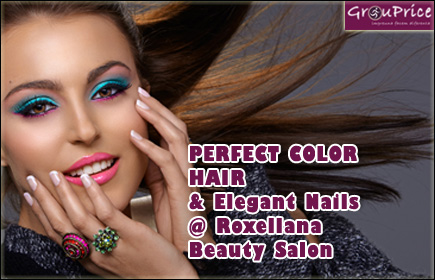 PERFECT COLOR HAIR si Elegant Nails @ Roxellana Beauty - Salon