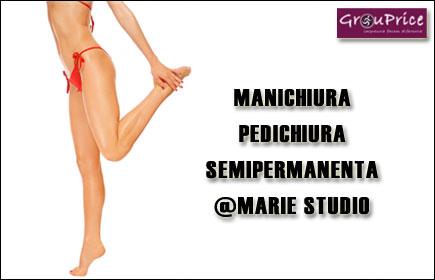 Pachet MANI- PEDI SEMIPERMANENTA @ MARIE STUDIO