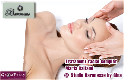 Tratament facial complet  Maria Galland @  Studio Baronesse by Gina