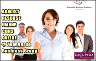 ANALIST RESURSE UMANE - CURS ONLINE @ Avangarde Business Group