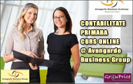 CONTABILITATE PRIMARA - CURS ONLINE @ Avangarde Business Group