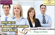 SPECIALIST MANAGEMENT DESEURI - CURS ONLINE @ Avangarde Business Group
