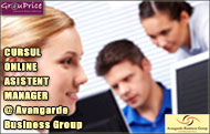ASISTENT MANAGER  - CURS ONLINE @ Avangarde Business Group